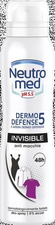 DEODORANTE SPRAY DERMO DEFENSE 5 INVISIBLE