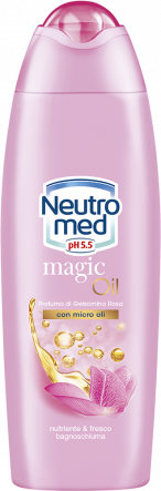 BAGNOSCHIUMA MAGIC OIL GELSOMINO ROSA