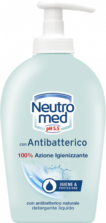 DETERGENTE MANI LIQUIDO CON ANTIBATTERICO