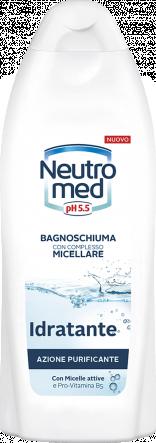 BAGNOSCHIUMA CON COMPLESSO MICELLARE IDRATANTE