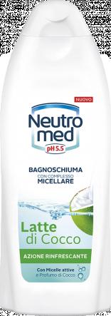 BAGNOSCHIUMA CON COMPLESSO MICELLARE LATTE DI COCCO