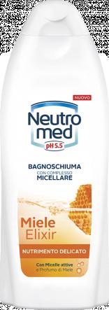 BAGNOSCHIUMA CON COMPLESSO MICELLARE MIELE ELIXIR