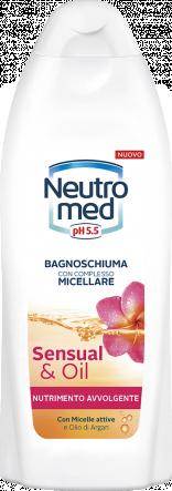 BAGNOSCHIUMA CON COMPLESSO MICELLARE SENSUAL & OIL